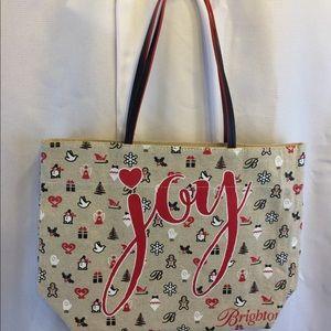 Brighton Christmas canvas bag 12x16